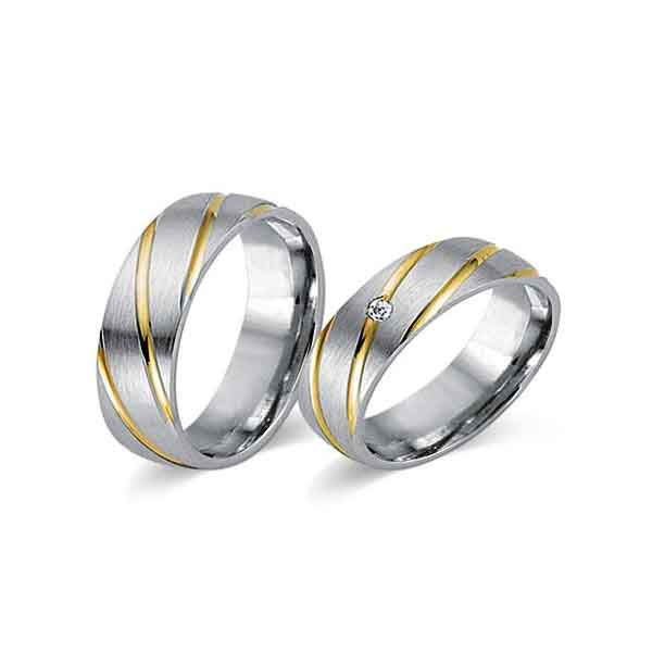 Juwelier Istanbul Velbert Fides Kollektion Trauringe 8008